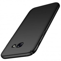 Samsung A3 2017 Ultratunn Gummibelagd Mattsvart Skal Basic® V2 Svart