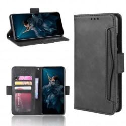 Huawei Nova 5T Plånboksfodral PU-Läder 6-FACK Winston® V3 Svart