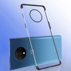 OnePlus 7T Stötdämpande Gummiskal V2 Svart