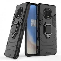 OnePlus 7T Stöttåligt Skal med Ringhållare ThinArmor® Svart