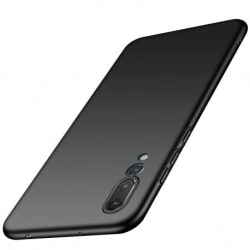 Huawei P20 Pro Ultratunn Gummibelagd Mattsvart Skal Basic® V2 Svart