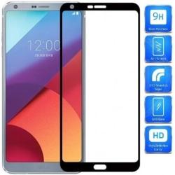 LG G6 FullFrame® 0.26mm 2.5D 9H Härdat Glas Svart