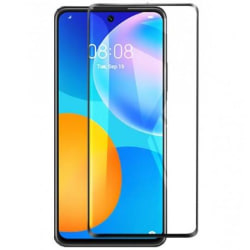 Huawei P Smart 2021 FullFrame® 0.26mm 9H Härdat Glas Transparent
