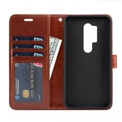 OnePlus 8 Pro Plånboksfodral PU-Läder 4-FACK Svart Svart