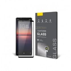 Xperia 5 II FullFrame® 0.26mm 2.5D 9H Härdat Glas Transparent