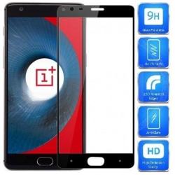 OnePlus 3 & 3T FullFrame® 0.26mm 2.5D 9H Härdat Glas Svart