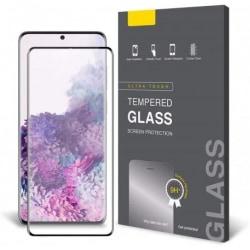 2-PACK Samsung S20 FE FullFrame® 0.26mm 3D 9H Härdat Glas Transparent