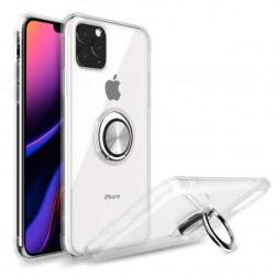 iPhone 11 Pro Max Stöttåligt Skal med Ringhållare Fresh® Transparent