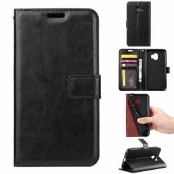 Samsung xCover 4/4S Plånboksfodral PU-Läder 4-FACK Svart