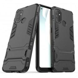 OnePlus Nord N100 Stöttåligt Skal med Kickstand ThinArmor® Svart