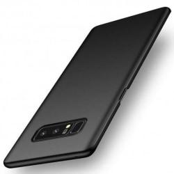Samsung Note 8 Ultratunn Gummibelagd Mattsvart Skal Basic® V2 Svart
