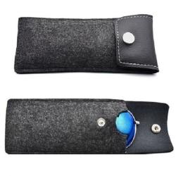 Elegant & Smidig Glasögonfodral Retro Black one size