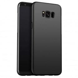Samsung S8 Plus Ultratunn Gummibelagd Mattsvart Skal Basic® V2 Svart