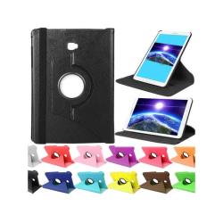 Flexibelt Roterbar Fodral Samsung Tab S3 SM-T825 Svart