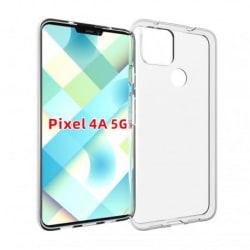 Google Pixel 4a 5G Stötdämpande Mjukt Skal Simple® Transparent