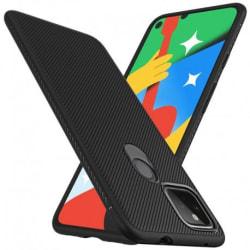 Google Pixel 4a 5G Ultratunn Stöttåligt Skal FullCarbon® V3 Svart