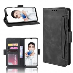 Huawei P Smart 2019 Plånboksfodral PU-Läder 6-FACK Winston® V3 Svart