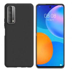 Huawei P Smart 2021 Gummibelagd Mattsvart Skal Basic® V2 Svart