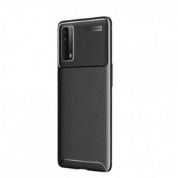 Huawei P Smart 2021 Stöttåligt Slimmat Skal FullCarbon® V4 Svart