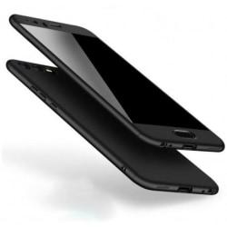 Huawei P10   360° 3in1 FullCover Skal + 0.26mm 9H Glas Svart