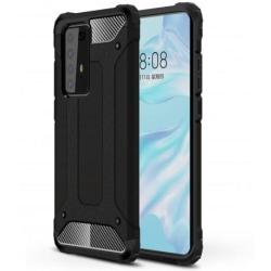 Huawei P40 Pro Stöttåligt Skal SlimArmor® - Svart Svart