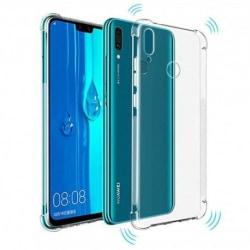 Huawei Y6 2019 Stötdämpande Silikon Skal Shockr® Transparent