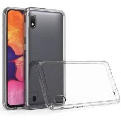 Huawei Y6 2019 Stötdämpande Skal med Repfri Plexiglas Glassback® Transparent