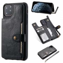 iPhone 11 Pro Max Multifunktionell Korthållare 5-FACK Winston® Svart