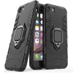 iPhone 7 Plus Stöttåligt Skal med Ringhållare ThinArmor® Svart
