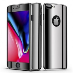 iPhone 8 Plus 360° 3in1 FullCover Skal V2 + 0.26mm 9H Glas Svart