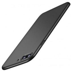 iPhone SE (2020) Ultratunn Gummibelagd Mattsvart Skal Basic® V2 Svart