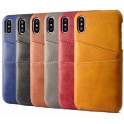 iPhone XR Stötdämpande Korthållare Retro® V2 Svart