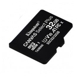 Kingston Canvas Select Plus MicroSD 32GB Svart