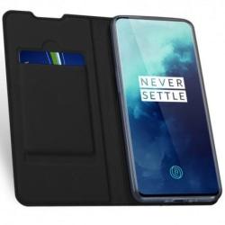 OnePlus 7T Pro Flipfodral Smooth® Kortfack Svart