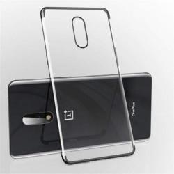 OnePlus 7T Pro Stötdämpande Gummiskal V2 Svart