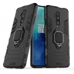 OnePlus 7T Pro Stöttåligt Skal med Ringhållare ThinArmor® Svart