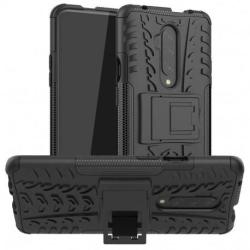 OnePlus 7T Pro Stöttåligt Skal med Stöd Active® Svart