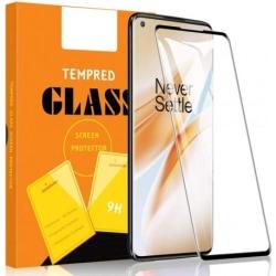 OnePlus 8 FullFrame® 3D 0.26mm 9H Härdat Glas Transparent