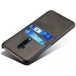 OnePlus 8 Stötdämpande Korthållare Retro® V2 Svart
