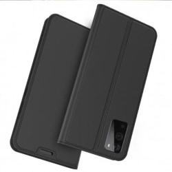 OnePlus 9 Flipfodral Smooth® Kortfack Svart