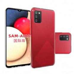 Samsung A02s Stötdämpande Mjukt Skal Simple® Transparent