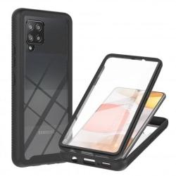 Samsung A42 5G Heltäckande Premium 3D Skal ThreeSixty® Transparent