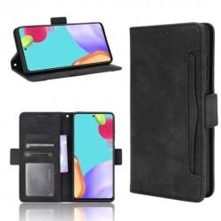 Samsung A52 5G Plånboksfodral PU-Läder 6-FACK Winston® V3 Svart