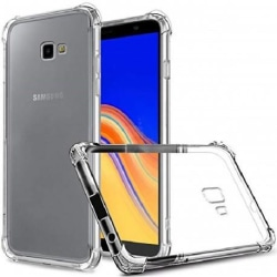 Samsung J4 Plus Stötdämpande Silikon Skal Shockr® SM-J415FN/DS Transparent