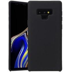 Samsung Note 9 Ultratunn Mjukt Gummibelagd Mattsvart Skal Svart