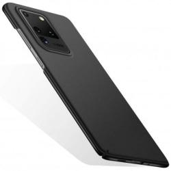 Samsung S20 Ultra Gummibelagd Mattsvart Skal Basic® V2 Svart