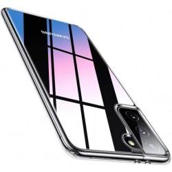 Samsung S21 Stötdämpande Silikon Skal Simple® Transparent