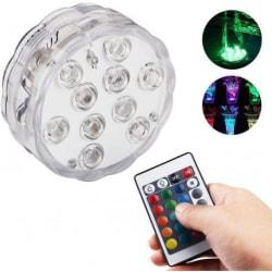 Vattentät Dekorativ LED-Belysning Transparent