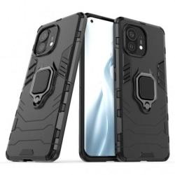Xiaomi Mi 11 Stöttåligt Skal med Ringhållare ThinArmor® Svart