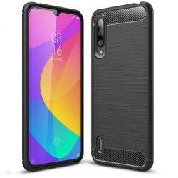 Xiaomi Mi A3 Stöttåligt Skal SlimCarbon® Svart